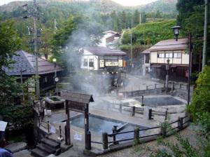 野沢温泉のお釜