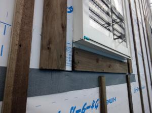 外壁通気胴縁検査
