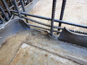 止水板の施工不良?