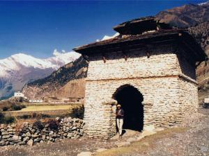 ネパールヒマールの村