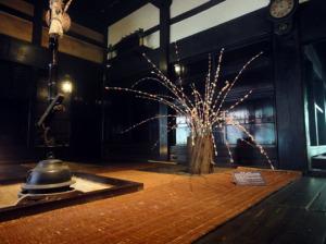 旧矢箆原家住宅正月飾り
