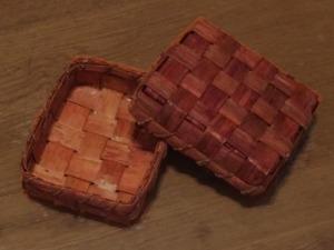 杉皮のBOX