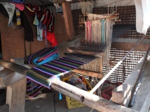 nepalの機織り