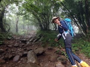 山歩きデビュー